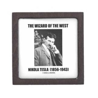 Nikola Tesla The Wizard Of The West Keepsake Box