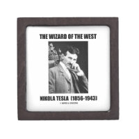 Nikola Tesla The Wizard Of The West Premium Jewelry Box
