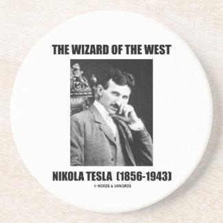 Nikola Tesla The Wizard Of The West Sandstone Coaster