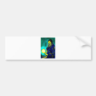 Nikola Tesla - Think Green Bumper Sticker