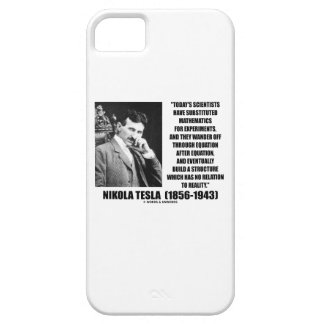 Nikola Tesla Today's Scientists Substituted Math iPhone SE/5/5s Case
