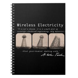 Nikola Tesla Tower Notebook