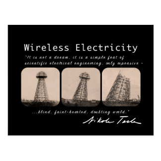 Nikola Tesla Tower Postcard