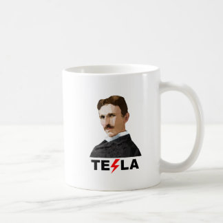 Nikola Tesla, Triangulated Coffee Mug