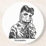 Nikola Teslasaurus Drink Coasters