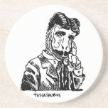 Nikola Teslasaurus Posavasos Personalizados