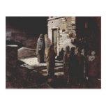 Nikolai Ge- Christ and his disciples , Gethsemane Postcard
