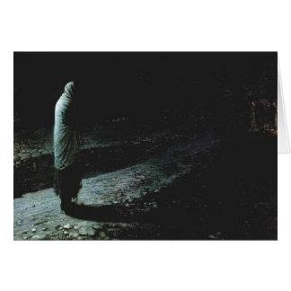 Nikolai Ge- Conscience, Judas Greeting Card