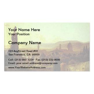 Nikolai Ge- Florence Business Cards