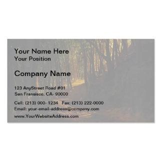 Nikolai Ge- Oak Grove at San Terenzo Business Card Templates