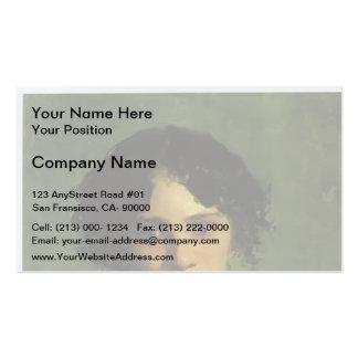 Nikolai Ge- Portrait of Maria Gabayeva Business Card