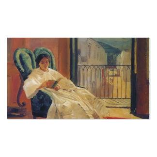 Nikolai Ge- Portrait of the Artist's Wife Anna Ge Business Cards