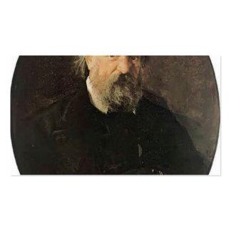 Nikolai Ge-Portrait of the Author Alexander Herzen Business Cards