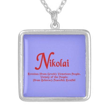 Nikolai Necklace