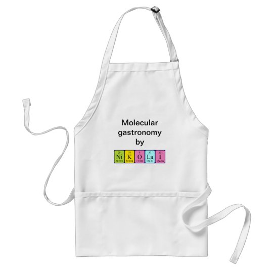 Nikolai periodic table name apron