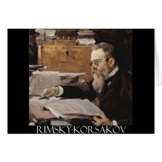 Nikolai Rimsky-Korsakov items Greeting Cards