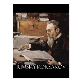 Nikolai Rimsky-Korsakov items Post Card