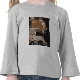 Nikolai Rimsky-Korsakov items Tshirt