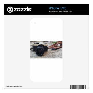 Nikon Film Camera iPhone 4 Skin