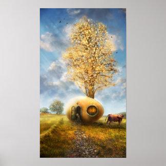nil novi sub sole (autumn) - Poster