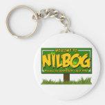 nilbog key chain