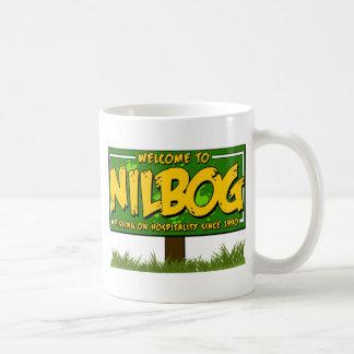 nilbog coffee mug