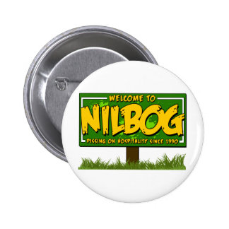 nilbog pinback button