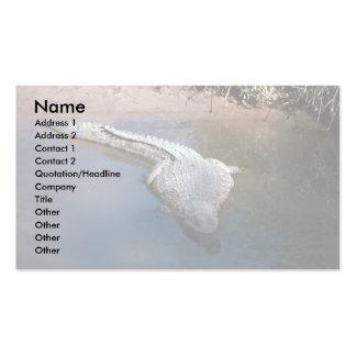 Nile Crocodile Business Card Templates