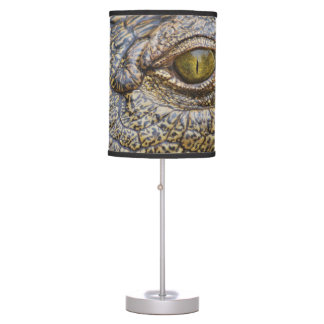 Nile crocodile from Africa Desk Lamps