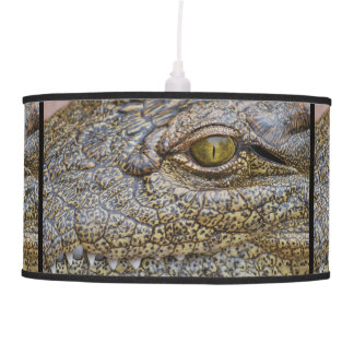 Nile crocodile from Africa Hanging Pendant Lamps