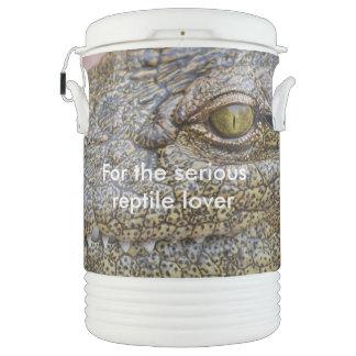 Nile crocodile from Africa Igloo Beverage Cooler