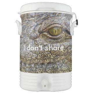 Nile crocodile from Africa Igloo Beverage Dispenser