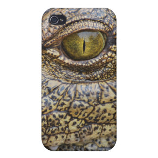 Nile crocodile from Africa iPhone 4/4S Covers