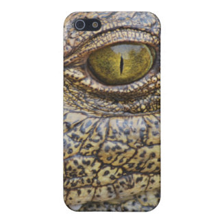 Nile crocodile from Africa iPhone 5 Cases