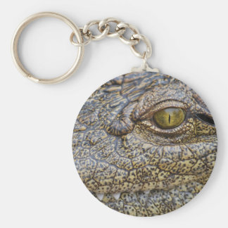 Nile crocodile from Africa Keychains