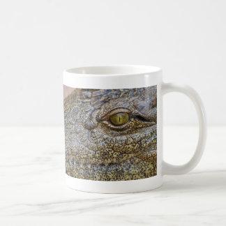 Nile crocodile from Africa Classic White Coffee Mug