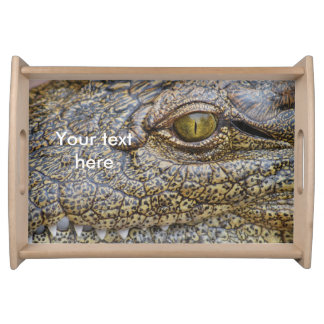 Nile crocodile from Africa Serving Platters