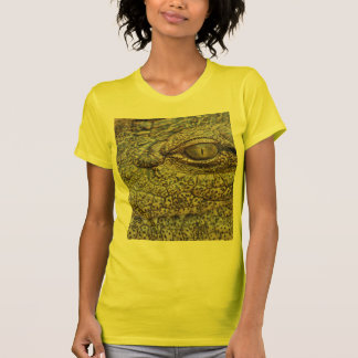 Nile crocodile from Africa Tees