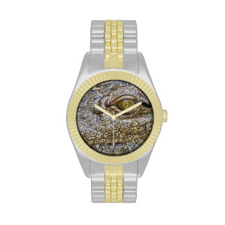 Nile crocodile from Africa Watches