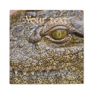 Nile crocodile from Africa Wood Coaster