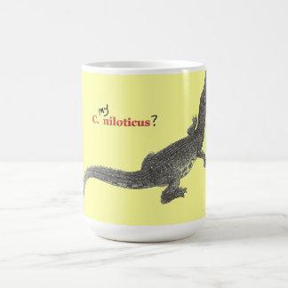 Nile Crocodile Youngster Coffee Mug