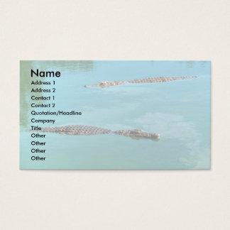 Nile Crocodiles Business Card