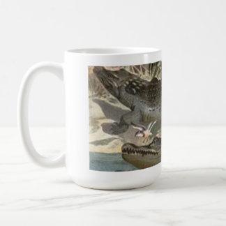 Nile Crocodiles by Alfred Brehm Coffee Mug