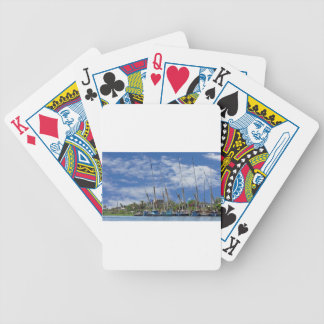 nile cruise bicycle playing cards