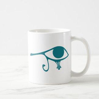 Nile Eye of Horus Mugs