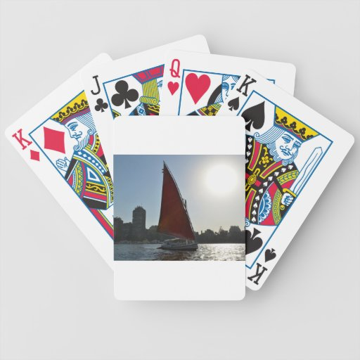 Nile Felucca In The Sun Bicycle Playing Cards