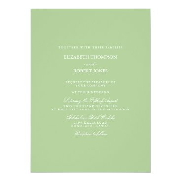 Beach Themed Nile Green - Spring 2018 London Fashion Trends Card