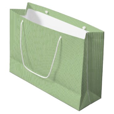 Beach Themed Nile Green - Spring 2018 London Fashion Trends Large Gift Bag