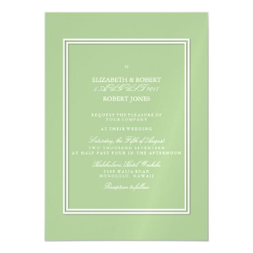 Beach Themed Nile Green - Spring 2018 London Fashion Trends Magnetic Card