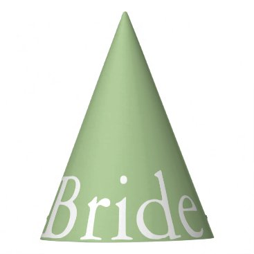 Beach Themed Nile Green - Spring 2018 London Fashion Trends Party Hat